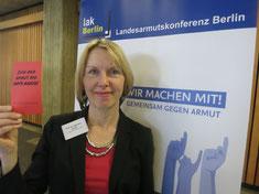 Prof. Dr. Susanne Gerull - Sprecherin der Fachgruppe Armutsbegriff