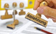 ablehnung bu leistung