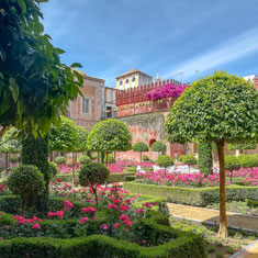 Visite guidée en français de Casa de Pilatos, Séville, Sevilla. Palais aristocratique, arts antiques, collection d'art privée