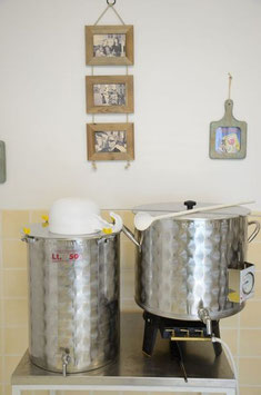 cuve de brasserie de a bière de saint genix sur guiers en savoie