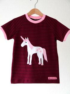 Lumpenprinzessin Shirt Einhorn Genähtes/Handarbeit