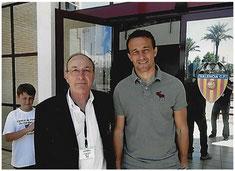 Etienne Rippert avec César Sanchez Dominguez (2011)
