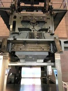 大部数印刷を可能にしたオフセット輪転機