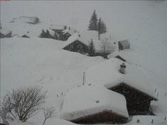 ...und lassen uns einschneien