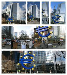 Frankfurt - EZB - Willy-Brandt-Platz