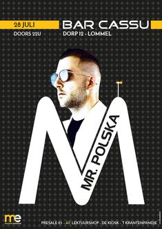 Van Bun Communicatie & Vormgeving - Grafisch ontwerp - Lommel - Affiche Bruisend Lommel - Mr. Polska