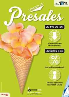 Van Bun Communicatie & Vormgeving - Grafisch ontwerp - Lommel - Affiche Bruisend Lommel - Pre Sales
