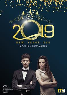 Dirk Van Bun Communicatie & Vormgeving - Grafisch ontwerp - reclame - publiciteit - Grafisch ontwerp - Lommel - Affiche New Years Eve