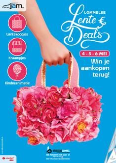 Van Bun Communicatie & Vormgeving - Grafisch ontwerp - Lommel - Affiche Bruisend Lommel - Lente Deals