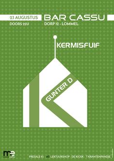 Dirk Van Bun Communicatie & Vormgeving - Grafisch ontwerp - reclame - publiciteit - Grafisch ontwerp - Lommel - Affiche Kermisfuif