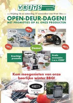 Dirk Van Bun Communicatie & Vormgeving - Grafische vormgeving - Lommel - Advertentie - Ontwerp - Reclame - Publiciteit - Vreys Electro