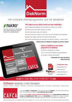 Van Bun Communicatie & Vormgeving - Grafische vormgeving - Lommel - Leaflet & Flyer Cafca