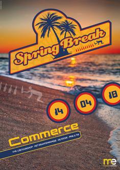 Dirk Van Bun Communicatie & Vormgeving - Grafisch ontwerp - reclame - publiciteit - Grafisch ontwerp - Lommel - Affiche Spring Break