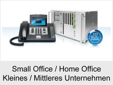 Ich suche eine neue Telefonanlage für Small Office, Home Office, Kleines oder Mittleres Unternehmen!