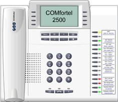 Auerswald Comfortel 2500 mit VoiceMail-System