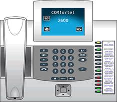 Auerswald Comfortel 2600 mit VoiceMail-System