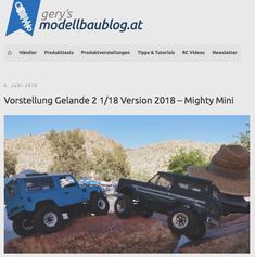 GERY´S modellbaublog.at über die 1/18 MightyMinis von RC4WD