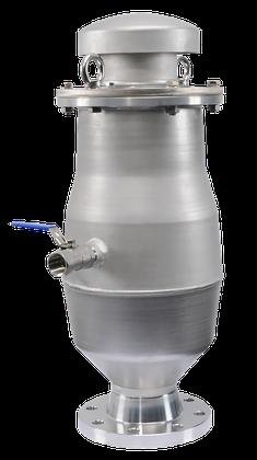 KEBI Abwasser BEV DN 150 für große Luftmengen