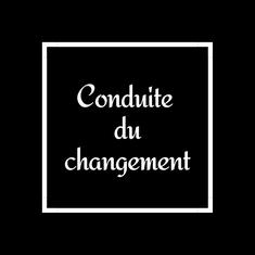 CONDUITE DU CHANGEMENT COACH LENA