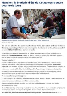 La Manche Libre, 21/7/16