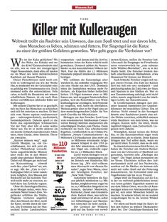 Spiegel, Katzen als Gefahr für Singvögel, 6/2013