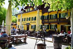 Biergarten Hinterbrühl am See près de l'Isar - Munich
