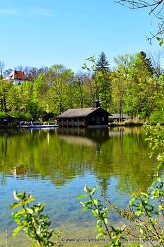 Hinterbrühl, lac de l'Isar