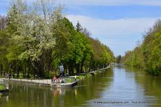 Canaux de l'Isar à Munich en Bavière
