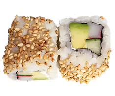 Vegetarian  Avocado, Gurke, Paprika  Sesam