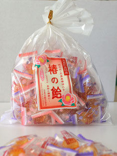 五島列島産のツバキ油配合の飴の写真