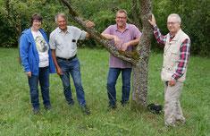 NABU auf Exkursion zur Landschaftsgeschichte des Heckengäus