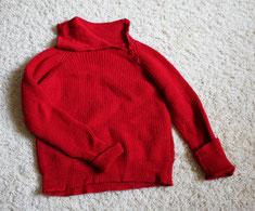 Wollpullover/ Outdoor-pullover gestrickt von ritsch-ratsch