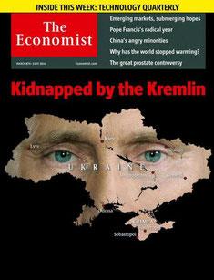 Путин Владимир, Президент России, The Economist 8 марта 2014