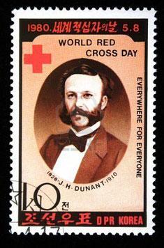 En Conmemoración del nacimiento de Henry Dunant, considerado el Padre de la Cruz Roja; nació en Ginebra, Suiza, en 1828.