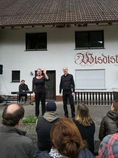 Mauerbrecher, Improvisationstheater Freiburg, Eröffnungsfest Soulframes, Wisdishof