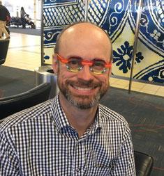 Douglas Keith博士。セントルイス空港にて。