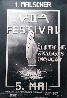 Plakat von 1984