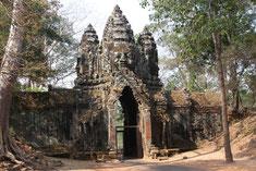 Eingangstor zu Angkor Thom