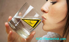 Trinkwasser muss für den Genuss Schweb-, Schadstofffrei sein.