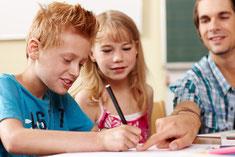 Hausaufgabenbetreuung in der TG