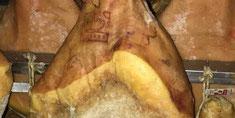 Prosciutto Crudo con osso Riserva Luiset agrisalumeria luiset