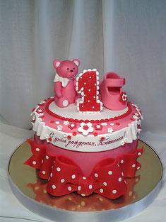 Такой тортик будем делать на курсах
