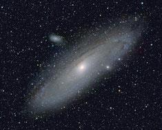 Foto: Stupka Werner, Bayerische Volkssternwarte Neumarkt e.V., Andromeda Galaxie M31