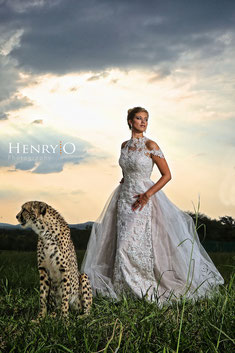 Wilde Tiere - Hochzeitsfortografie