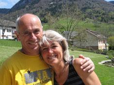 Bernard Cavey et Danielle Dusson