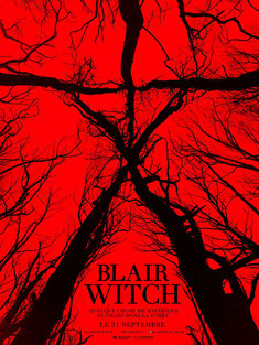 Blair Witch de Adam Wingard - 2016 / Horreur