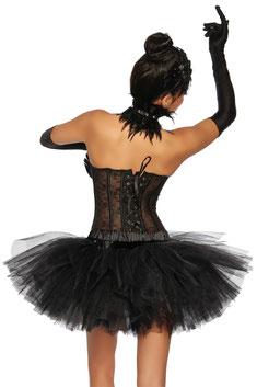 """Petticoat """"Swan"""" schwarz"""