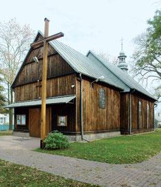 Drewniany kościół w Dąbrowie Wielkiej