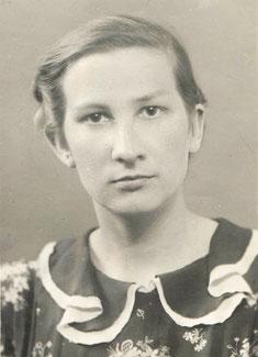 Людмила Ливанская. Начало 1950-х гг.