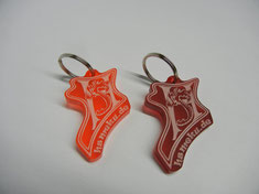 Schlüsselanhänger aus Acrylglas